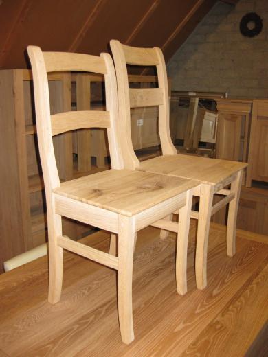 Eiken boeren stoelen groot en klein teak meubelen eiken meubelen - Houten stoelen om te eten ...