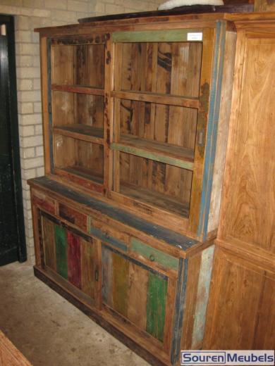 Teak sloophout winkelkast teak meubelen eiken meubelen for Sloophout meubels