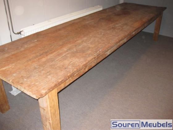 Teak tafel oud hout cm teak meubelen eiken meubelen