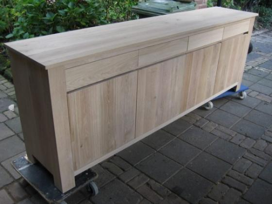 ~ Dressoir Eiken White Wash