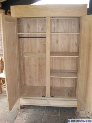 Eiken kast, eikenhouten kasten (3)