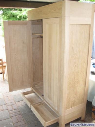 Eiken kast, eikenhouten kasten (4)