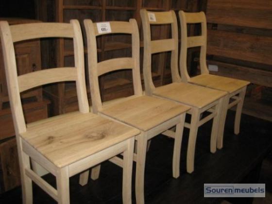 Eiken stoel, eikenhouten stoelen (7)