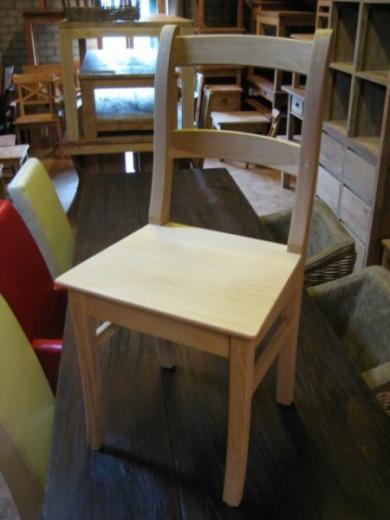 Eiken stoel, eikenhouten stoelen