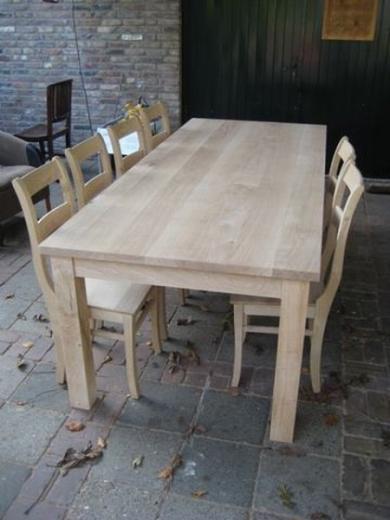 Eiken tafels, eikenhouten tafel (24)