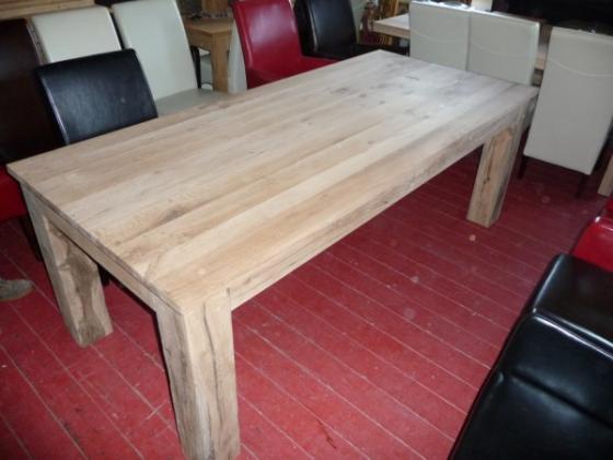 Eiken tafels, eikenhouten tafel (26)