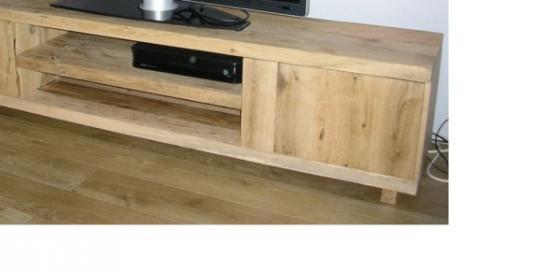Eiken tv-meubels, eikenhouten tv-meubelen (20)