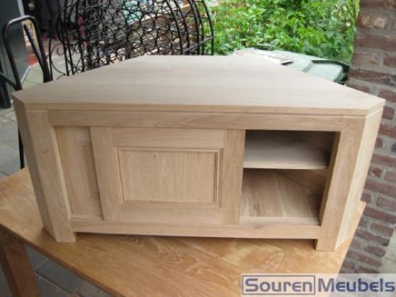 Eiken tv-meubels, eikenhouten tv-meubelen
