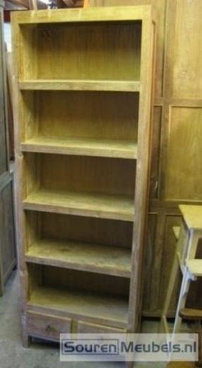 Teak boekenkasten (4)
