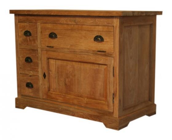 Teak dressoir, teakhouten dressoirs (14)