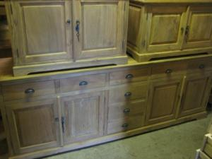 Teak dressoir, teakhouten dressoirs (25)