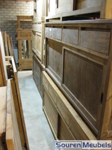 Teak dressoirs 200x90cm (4)