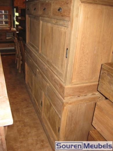 Teak dressoirs 200x90cm