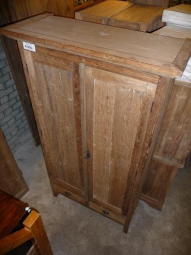 Teak kast oud hout (3)