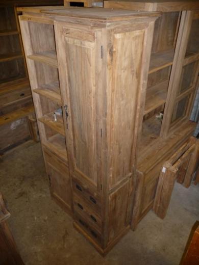 Teak kast oud hout (4)