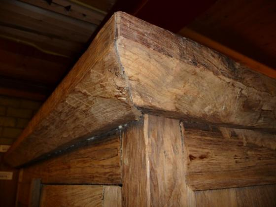 Teak kast oud hout (9)