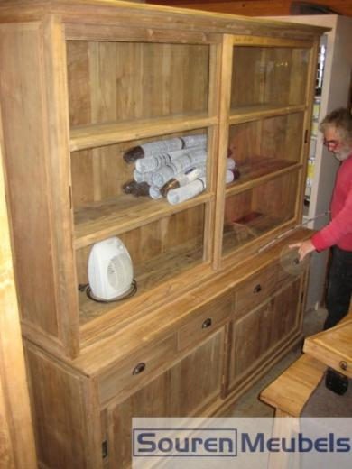 Teak kast teakhouten kasten 9 teak meubelen eiken for Meubels teak