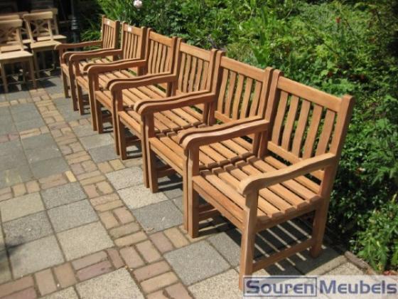 Teak stoel teakhouten stoelen teak meubelen eiken for Teakhouten tuinmeubelen