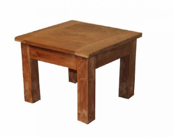 Teak tafel teakhouten bijzettafels 2 teak meubelen for Teakhouten tafel