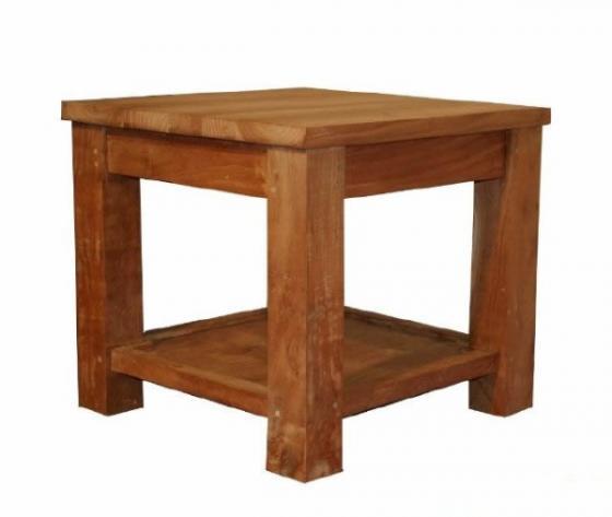Teak tafel teakhouten bijzettafels 5 teak meubelen for Teakhouten tafel