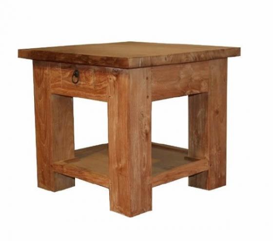 Teak tafel teakhouten bijzettafels 7 teak meubelen for Teakhouten tafel