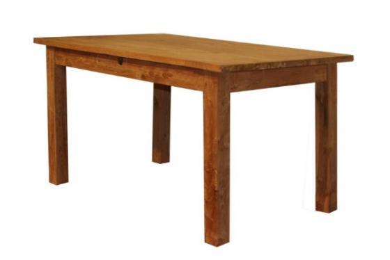 Teak tafel teakhouten tafels met lades teak meubelen for Teakhouten tafel
