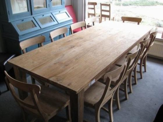 Donkere Eiken Keuken Lichter Maken : Teak tafel, teakhouten tafels Teak Meubelen & Eiken Meubelen