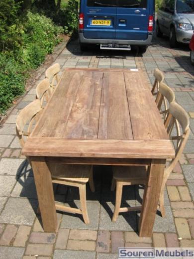 Teak tafel, teakhouten tuintafels (2)