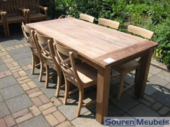 Teak tafel buiten top teak tafel buiten teakhouten tafels with