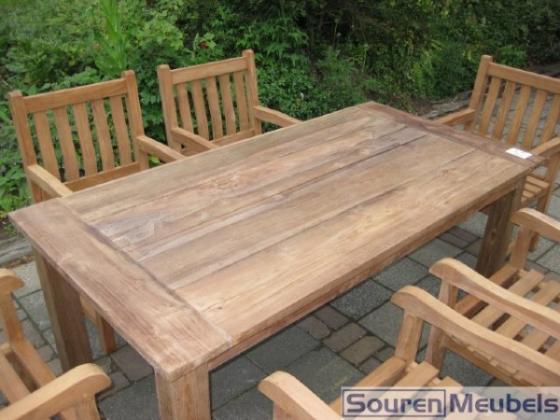 Teak tafel, teakhouten tuintafels (8)