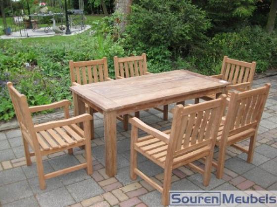Teak tafel, teakhouten tuintafels (9)