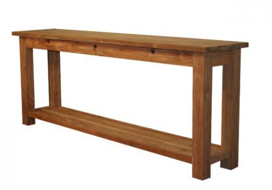 Teak tafel teakhouten wandtafels 4 teak meubelen for Teakhouten tafel