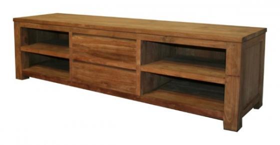 Teak tv meubel teakhouten tv meubels 9 teak meubelen for Meubels teak